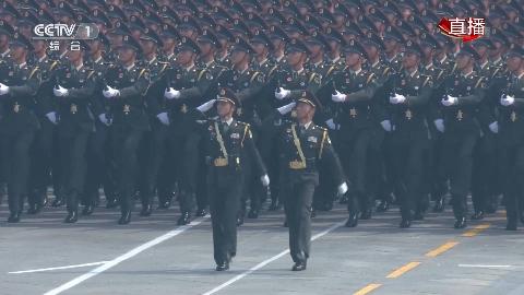 70周年大阅兵:陆军方队