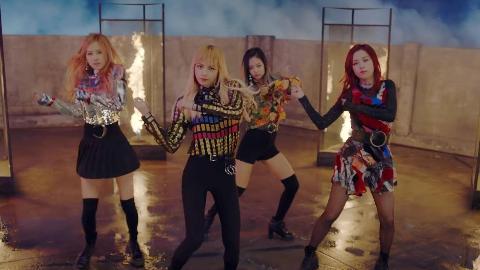 BLACKPINK - PLAYING WITH FIRE  MV 韩国女团 MV