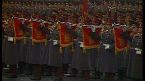 1975年的苏联十月革命阅兵