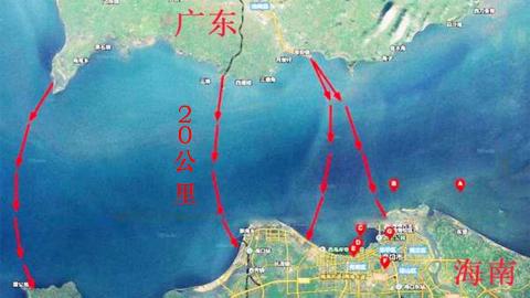 海南与广东这么近,为什么不造跨海大桥?
