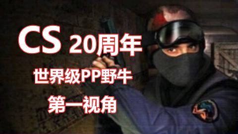 """【CSGO】世界级万杀""""PP野牛""""第一视角"""