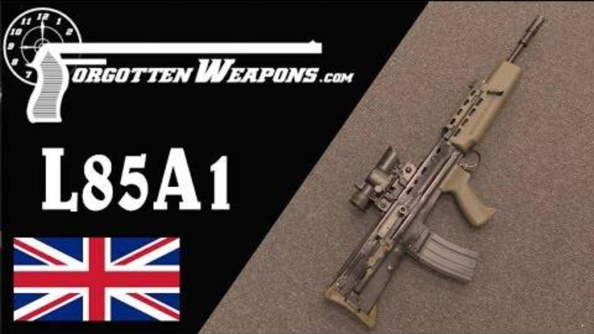 【被遗忘的武器/双语】恩菲尔德L85A1--最烂的现代军用步枪(L85/SA80发展史P5)