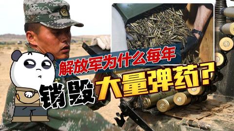 【点兵1070】我国为什么每年都要销毁大量的子弹?