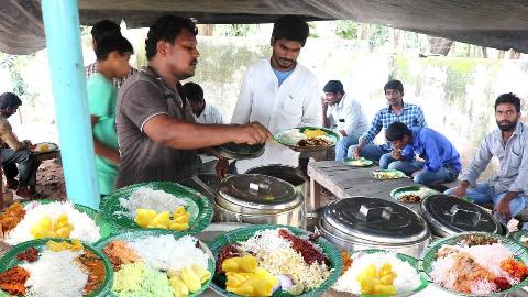 【印度街头美食】 - 街头快餐