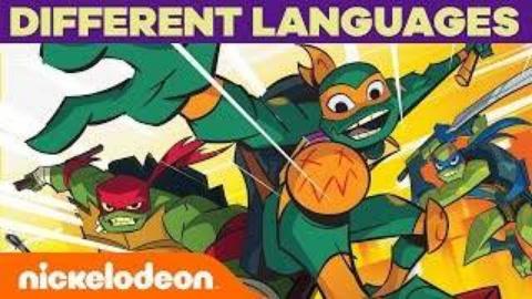 【生肉】 忍者神龟2018:崛起OP十国语言剪辑
