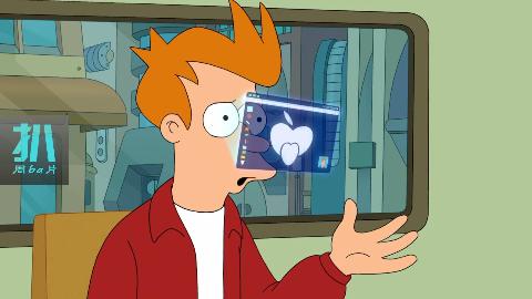 1000年后的地球,全新eyePhone装在眼睛里,全息投影告别低头族!