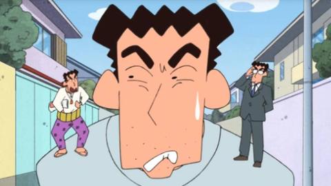 蜡笔小新:广志身边出现双重自己,岔路口的选择令他后悔!