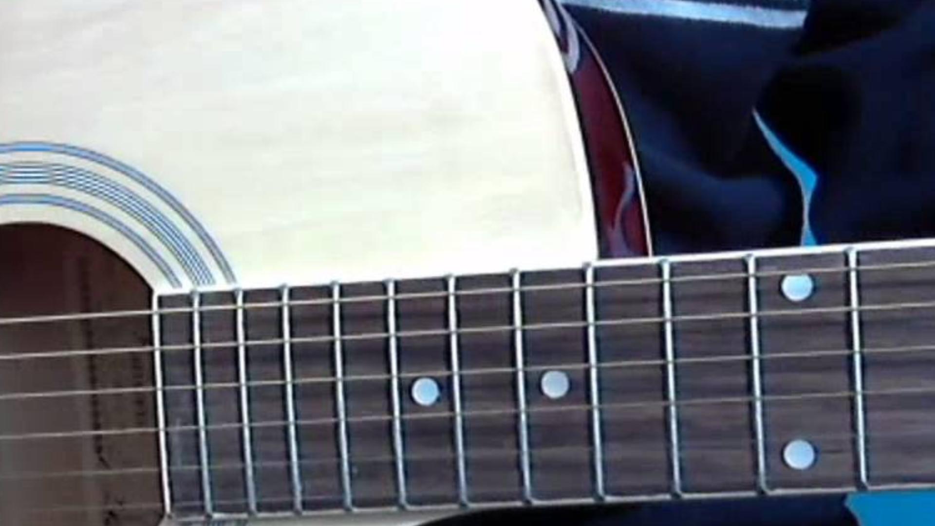 第71课零基础学吉他,吉他扫弦练习11