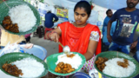 【印度街头美食】- 最便宜的路边餐