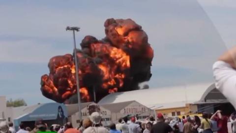 盘点那些恐怖的飞机坠毁视频(第二期)