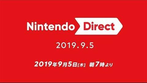 2019.09.05 任天堂直面会 全程视频