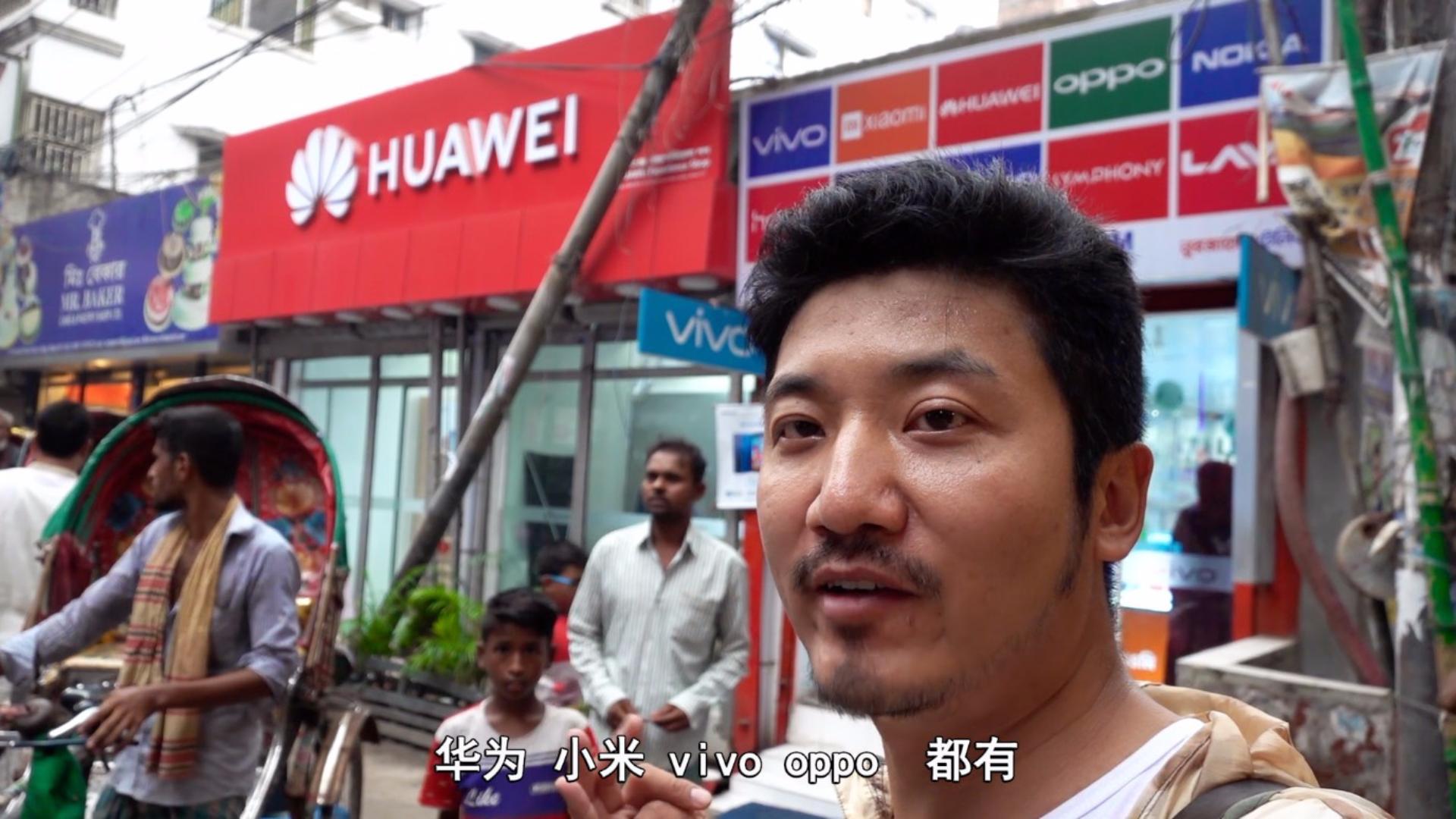 中国手机在孟加拉很受欢迎?华为不畅销,卖得最好的是这款学生机