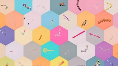 小清新可爱创意短片《纯手工时钟》