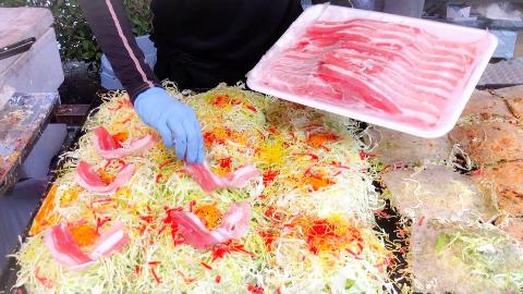【日本街头美食】- 御好烧