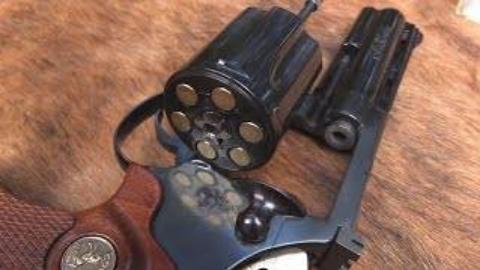 "[hickok45]柯尔特""Diamondback""左轮手枪"