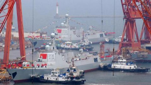 3艘航母、50艘神盾舰、100艘护卫舰!5年后的中国海军有多强大?