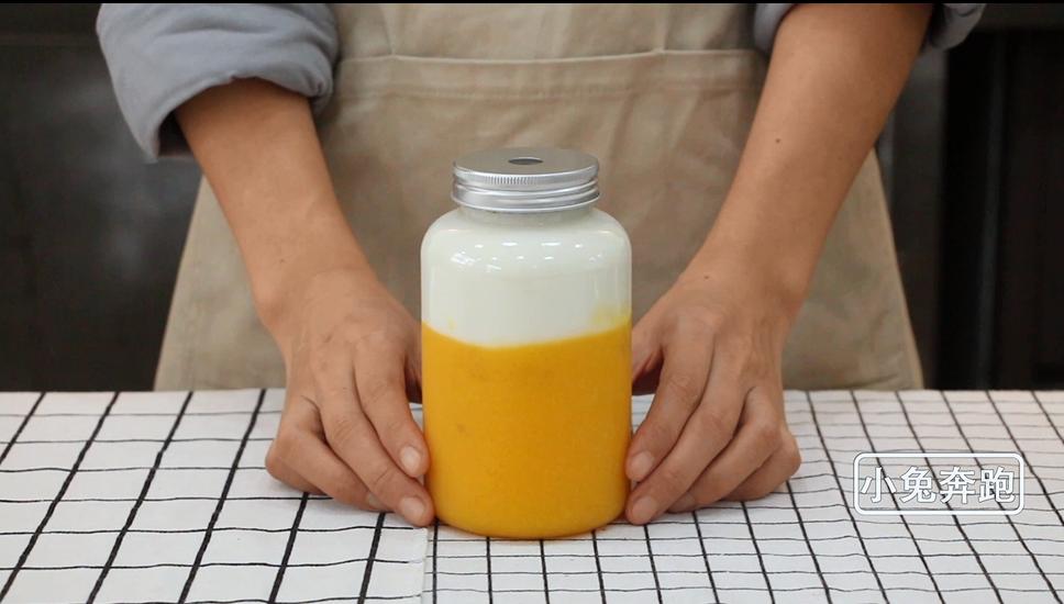 素匠泰茶泰椰奶花的做法——小兔奔跑奶茶教程