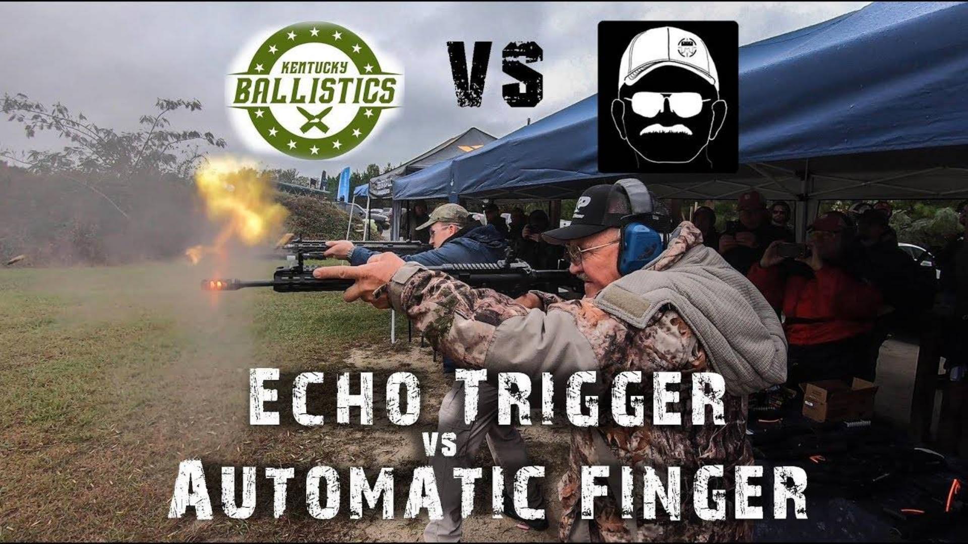 [北美枪神Jerry]全自动扳机(Echo Trigger) vs 全自动手指