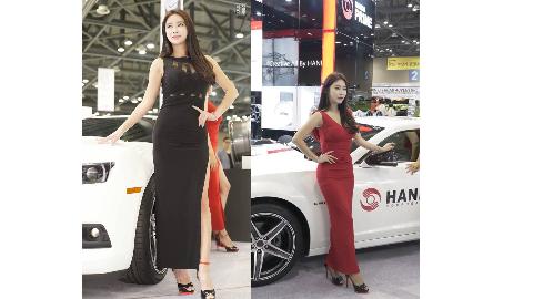 2018 AUTOWEEK展模特 - [Soy]红黑配长裙更喜欢哪个呢?