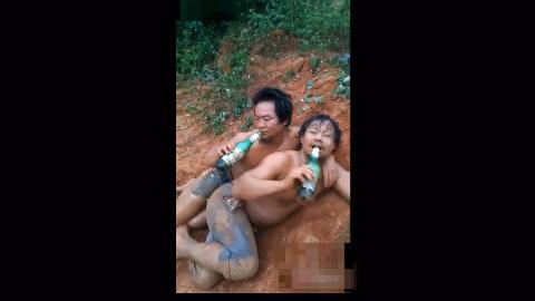【爆笑】醉酒出糗视频合集-几个菜呀,喝成这样!