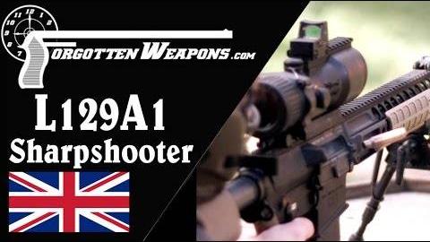 【被遗忘的武器/双语】英国L129A1精确射手步枪历史介绍/靶场试射