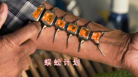 小伙接受神秘实验,手臂装上蜈蚣型增幅器,由凡人变成超能力者