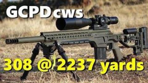 使用.308 CWS-GEN1狙击步枪挑战射击2237码目标