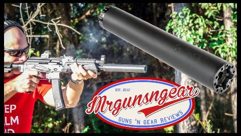 "[Mrgunsngear]Liberty""宇宙""消音器性能测试"