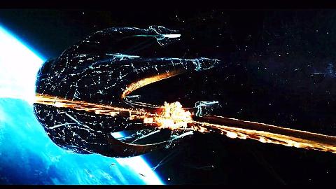 【星际战争·慢燃向】外星入侵地球村  光速毁灭歼星舰