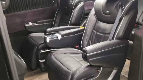 【环球商务车】19款奔驰V级定制改装黑色至臻宾法版,最新黑科技!