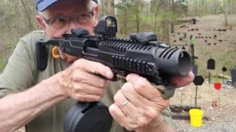 [hickok45]全自动格洛克卡宾枪