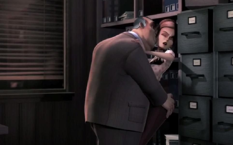 权色交易无处不在,窝囊小伙目睹老板骚扰女同事,他该怎么办?