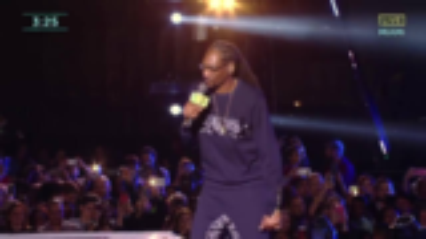 狗爷Snoop Dogg - 2017年跨年演出现场