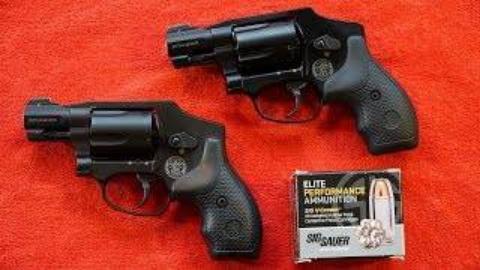 [BERETTA9mmUSA]史密斯威森M&P340左轮手枪