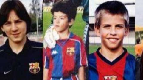 10年前拉玛西亚训练营的孩子是如何踢球de