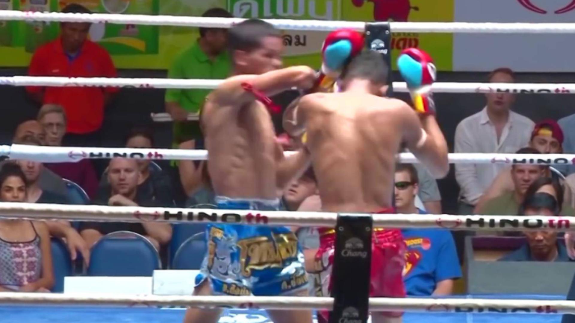 这绝对是泰拳最残暴的KO,每一次都是暴击!