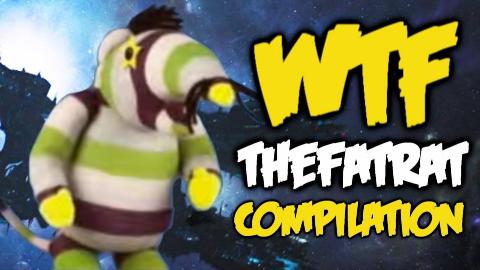Dota 2 WTF - TheFatRat Rampage Compilation