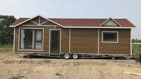 环球商务房车网,营地房车,多功能住宿房车,小木屋11.5米下