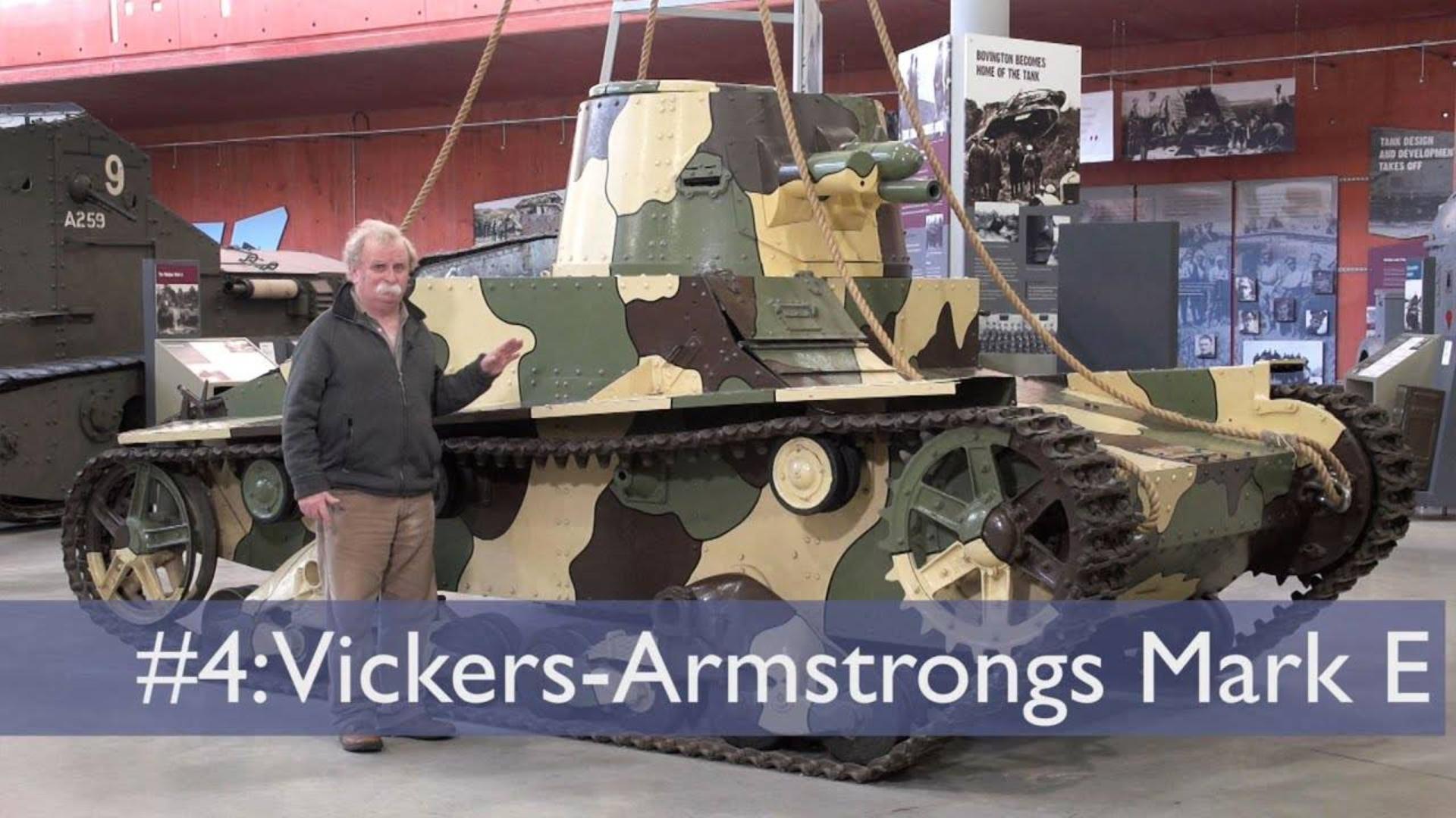 【坦克讲座/双语】大卫·弗莱彻-4-维克斯MkE轻型坦克
