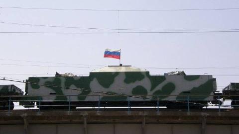 真实甲铁城!俄罗斯装甲列车