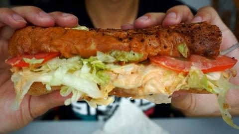 34元的照烧鸡肉三明治套餐!赛百味店员的推荐究竟好不好吃?吃惯了大米饭,能否习惯这种口味?