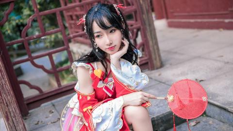 【紫嘉儿】原创编舞-千里邀月-红衣版