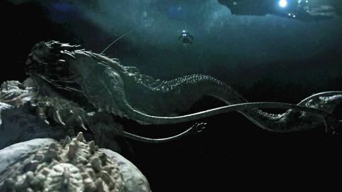 巨龙守卫宇宙深处的白洞,它美味且价格昂贵,并且长得很像中国龙