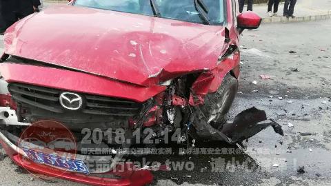 中国交通事故20181214:每天最新的车祸实例,助你提高安全意识!