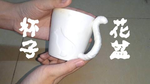 如何把不要的杯子做成能用的花盆