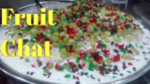 【巴基斯坦街头美食】著名的美食街-果露
