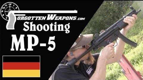 【被遗忘的武器/双语】MP5A3靶场试射 (双翻译版)