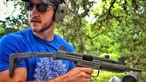【爆破农场】全自动乌兹Uzi冲锋枪在美国也合法? 中文字幕