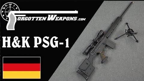 【被遗忘的武器/双语】PSG-1狙击步枪彻底剖析