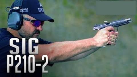 【搬运/已加工字幕】SIG P210-2手枪